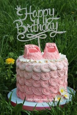 """Торт в стилі """"ombre"""""""