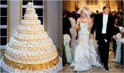 Весільні торти королів