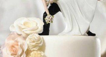 Красиві торти на весілля